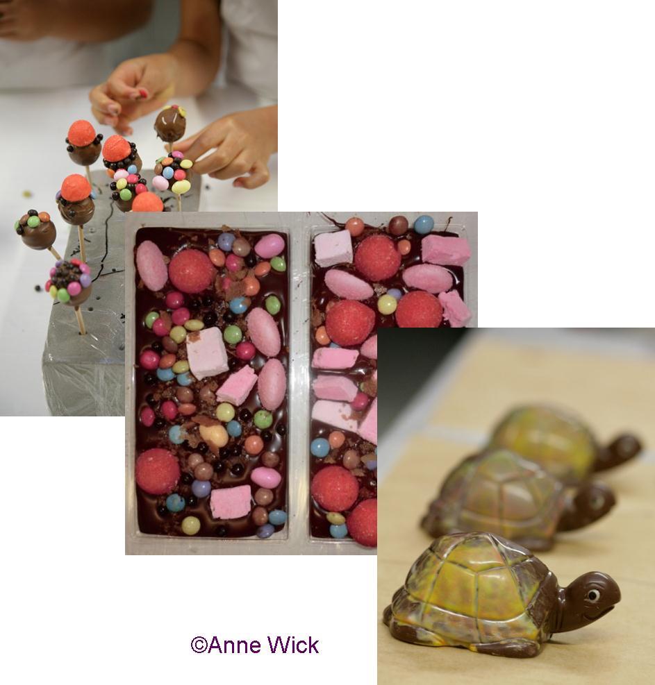 Aline Géhant Chocolatier Atelier Chocolat pour Enfants